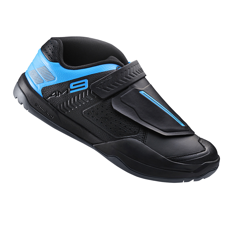 Shimano AM900 SPD Cycling Shoes - Black/Blue