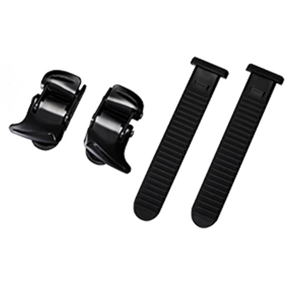 Shimano Universal Small Buckle and Strap Set - Black