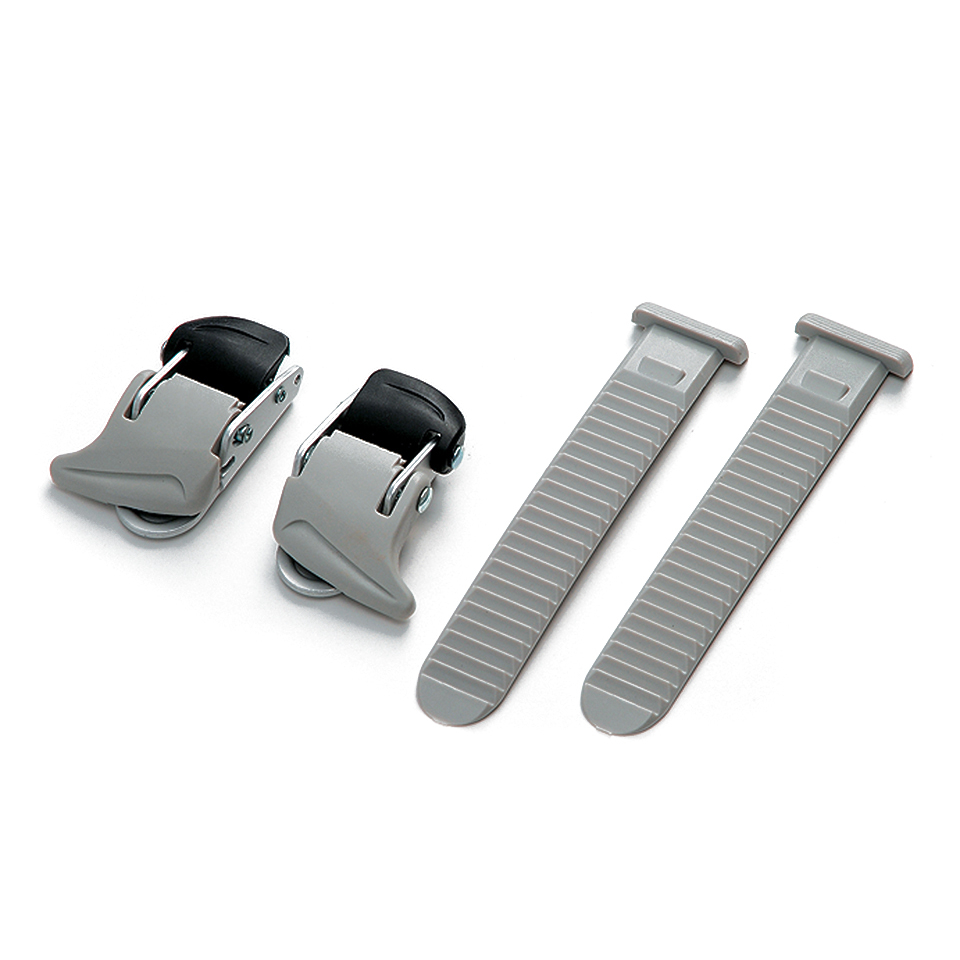 Shimano Universal Small Buckle and Strap Set - Grey