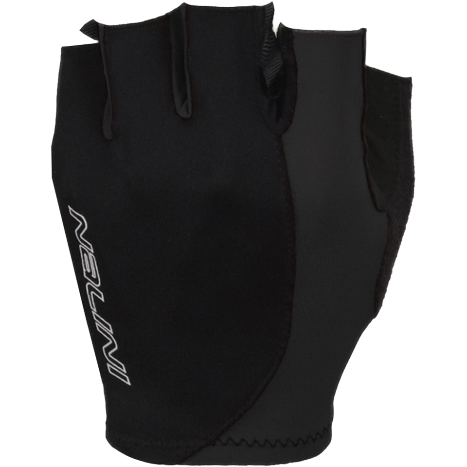 Nalini Logo Mitts - Black/Grey