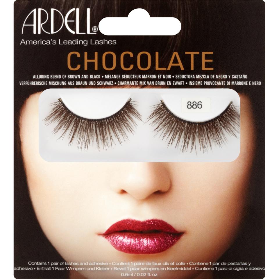 0445f33be44 Ardell 886 Lashes - Chocolate Black Brown | Free Shipping ...