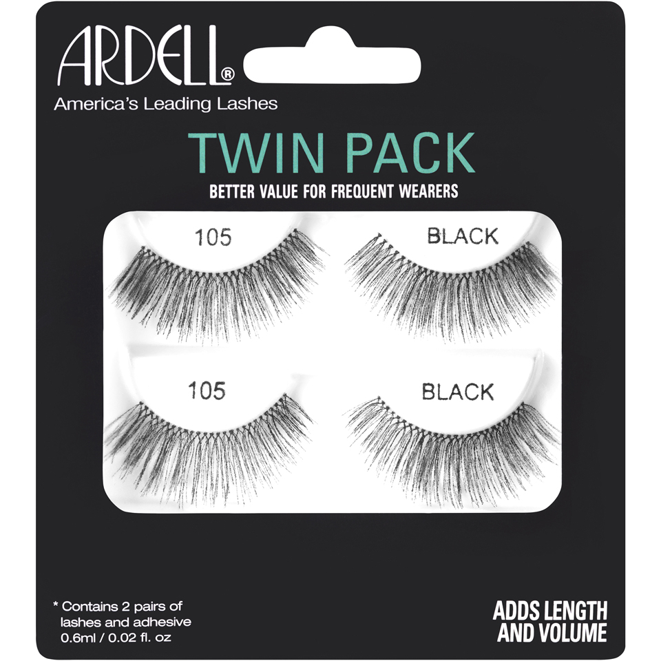 6a8a0433196 Ardell 105 Lashes Twin Pack | Free Shipping | Lookfantastic