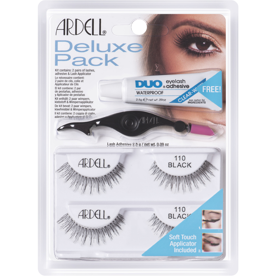 d8b89d2b164 Ardell Deluxe Lashes Pack 110 Black | Free Shipping | Lookfantastic