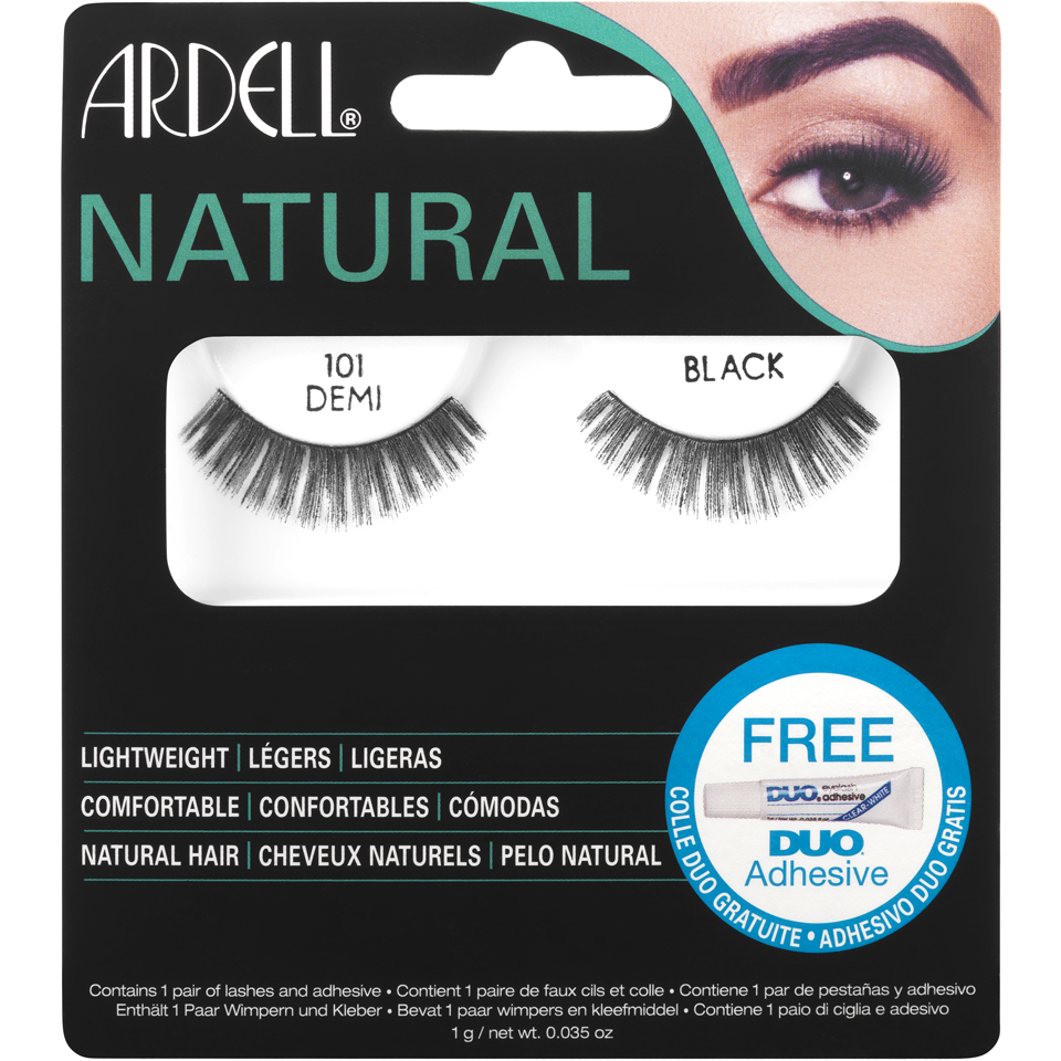 ea0d0305e50 Ardell Natural Lashes 101 Demi Black. Ardell How to Apply Strip Lashes