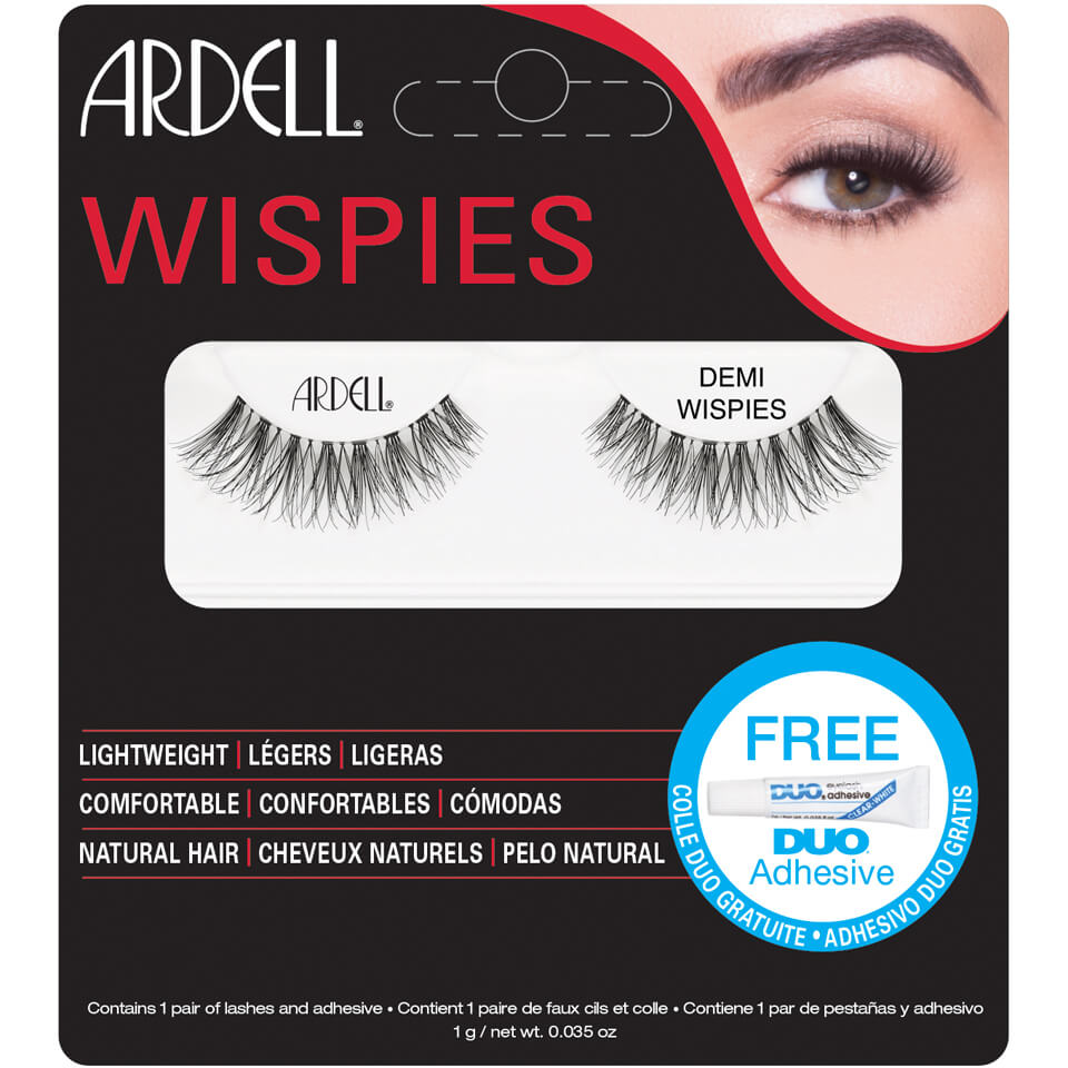 160fa51d806 Ardell Wispies Lashes Demi Wispies Black | Free Shipping | Lookfantastic