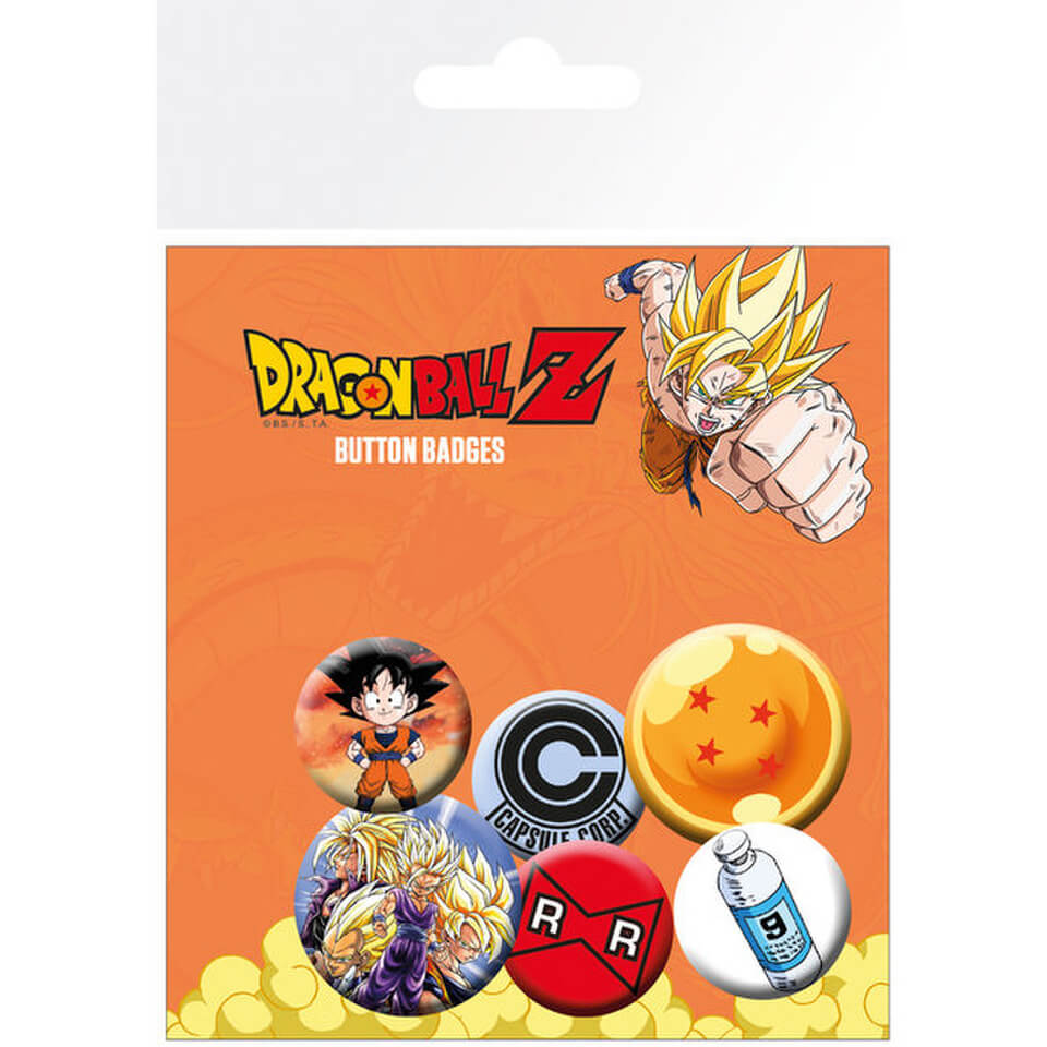 Dragonball Z Mix Badge Pack