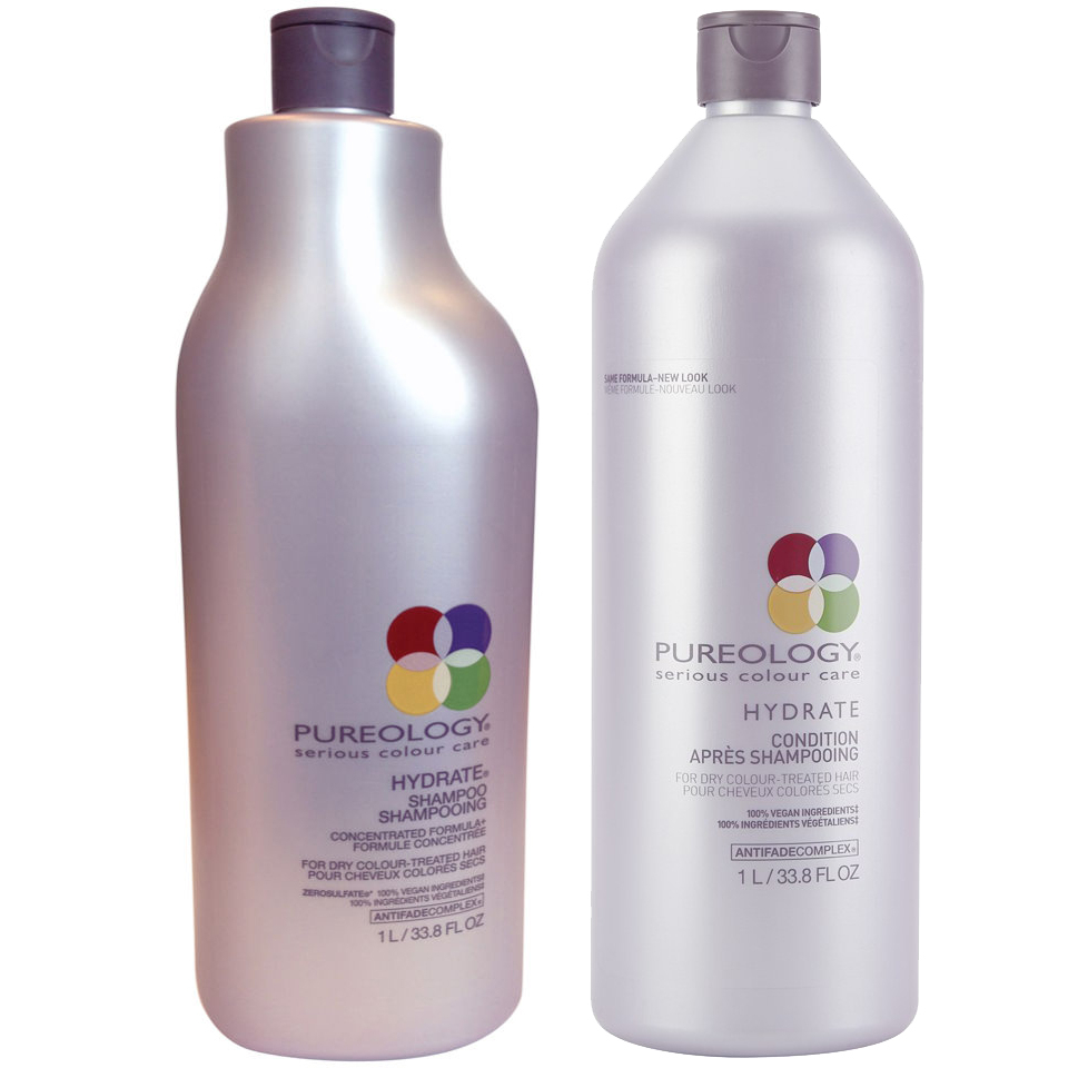 Pureology Hydrate Shampoo And Conditioner 1000ml Hq Hair