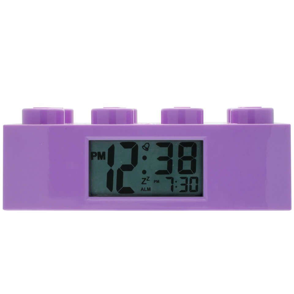LEGO Friends Brick Alarm Clock