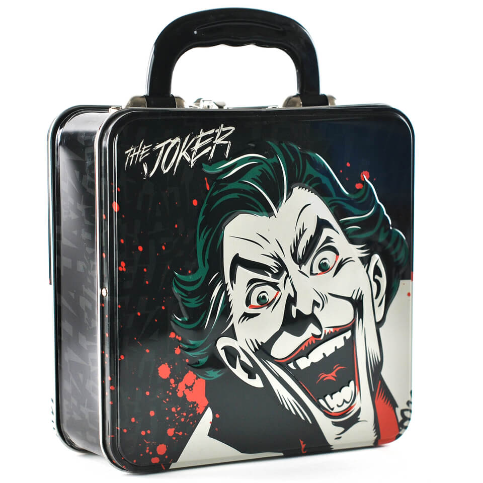 DC Comics Embossed The Joker Tin