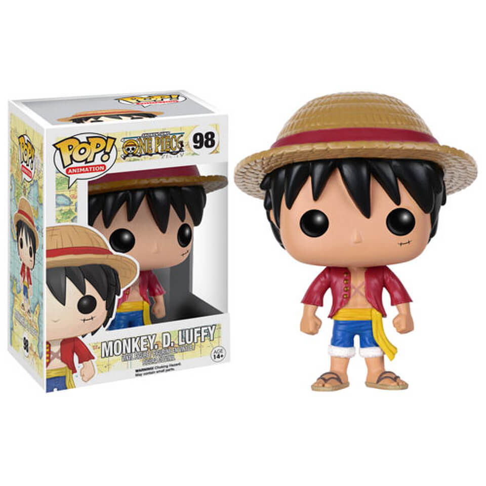 f1457d80456 One Piece Monkey D. Luffy Pop! Vinyl Figure. Description