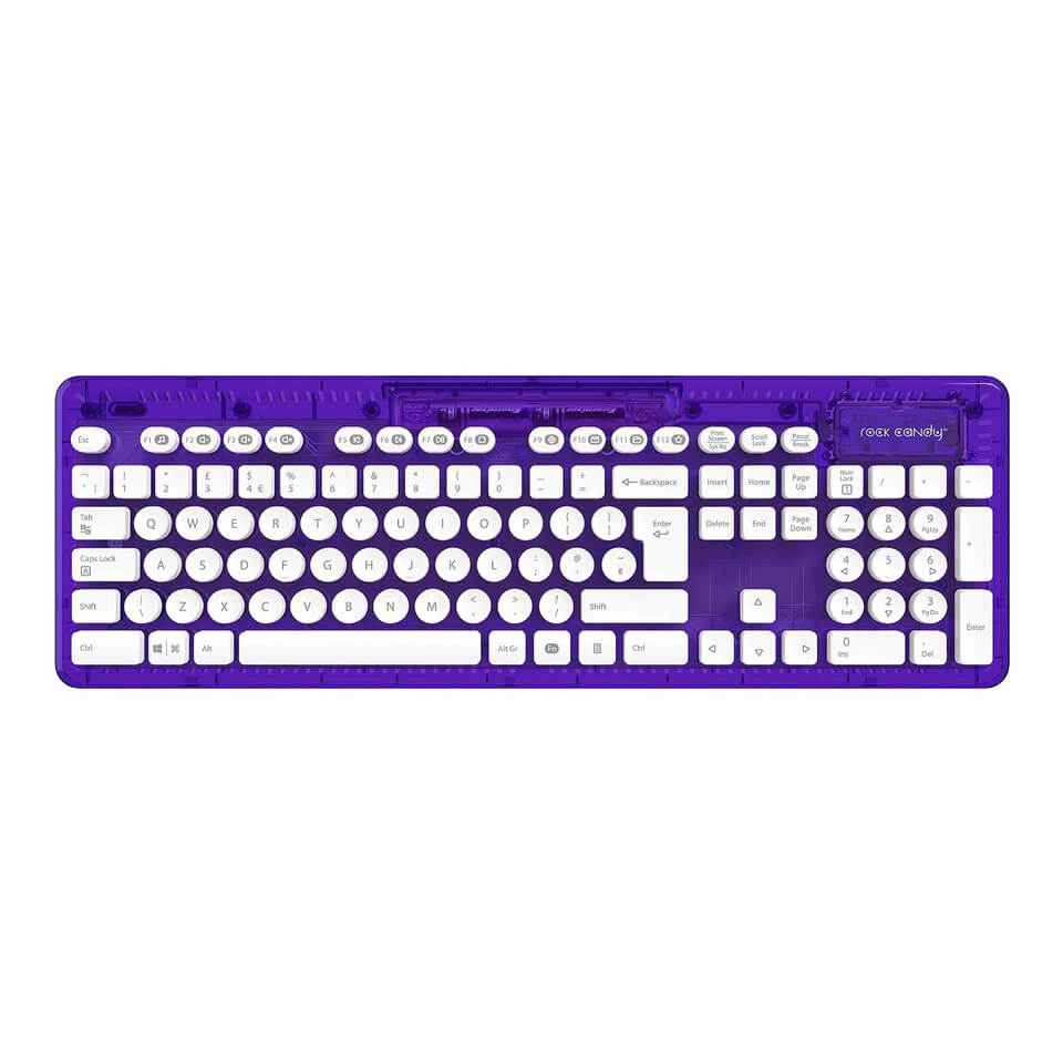 Rock Candy Wireless Keyboard - CosmoBerry