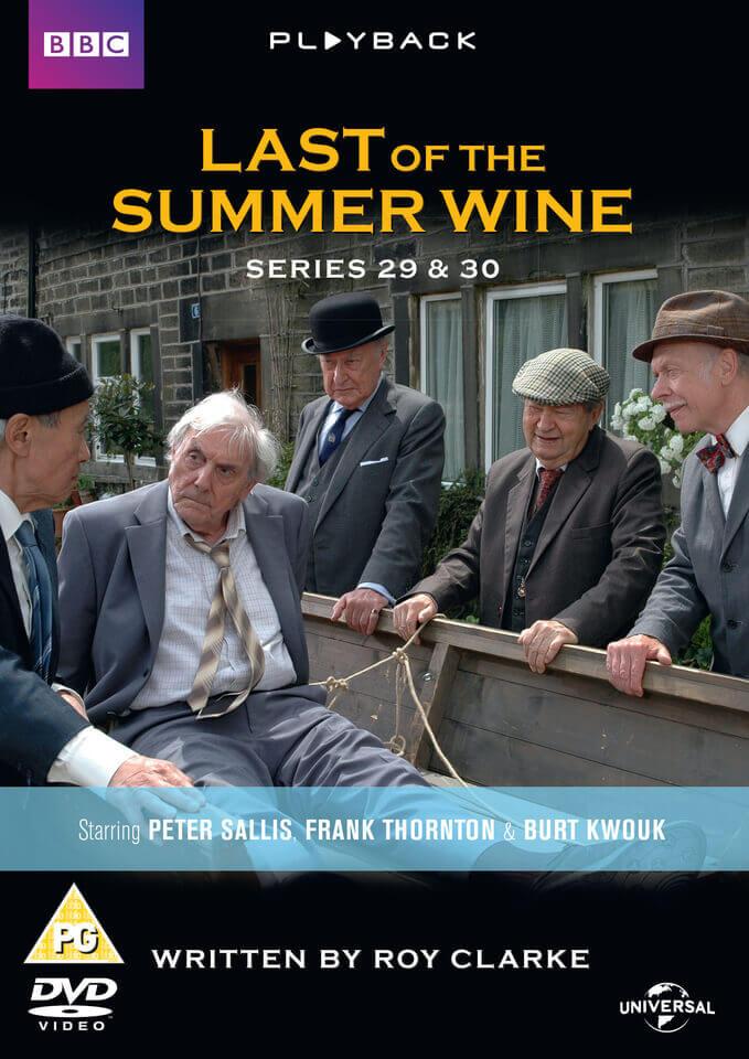 Last Of The Summer Wine Series 29 30 Dvd Zavvi