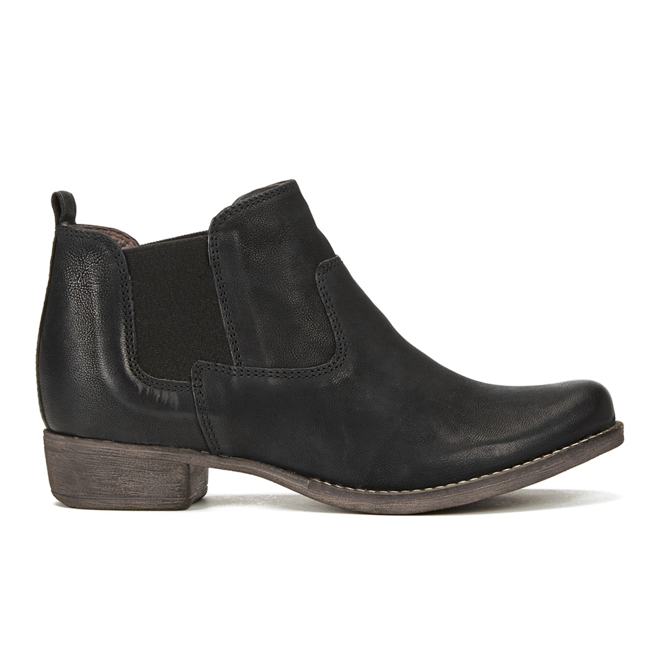 b11f63572 Clarks Women's Colindale Ritz Leather Chelsea Boots - Black Womens Footwear  | TheHut.com