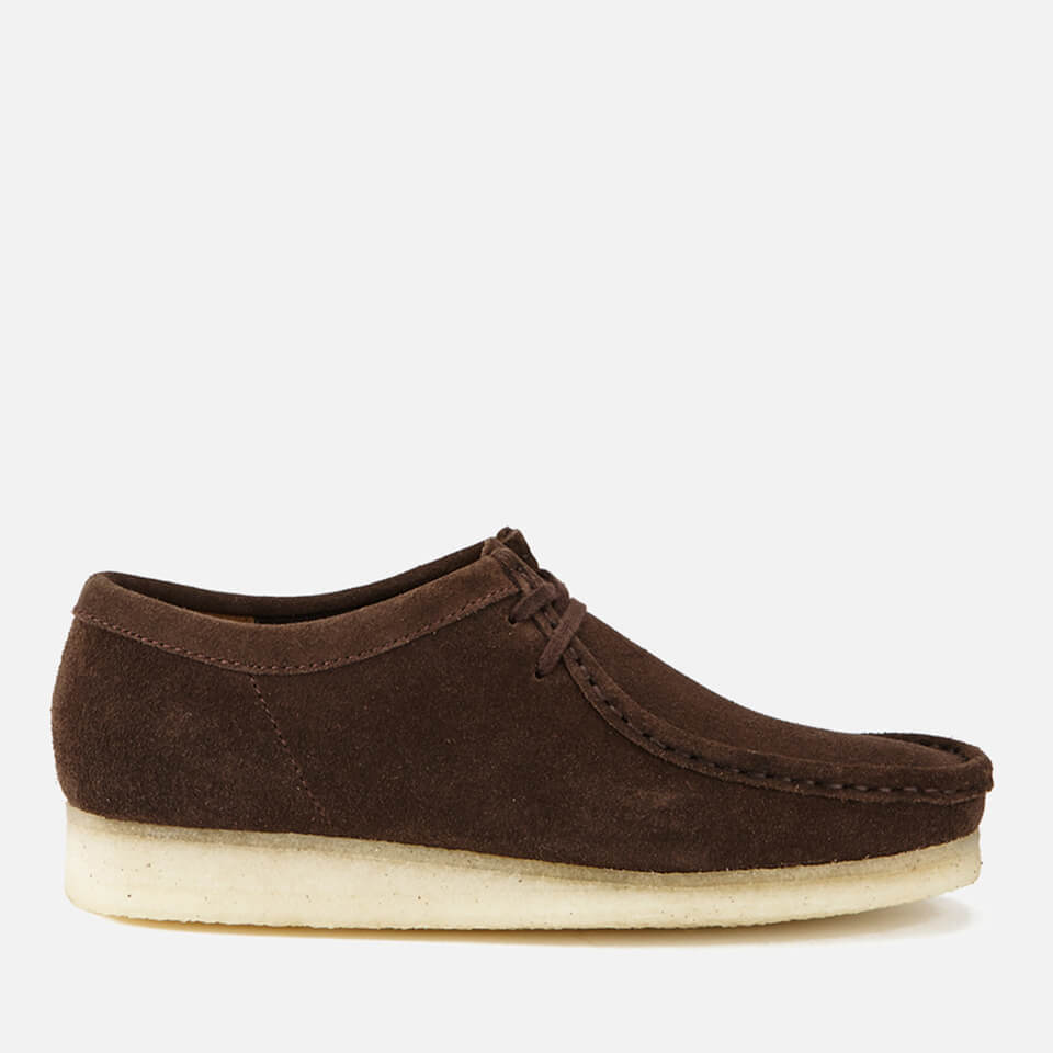 buy online top design best authentic Clarks Originals Men's Wallabee Shoes - Dark Brown Suede