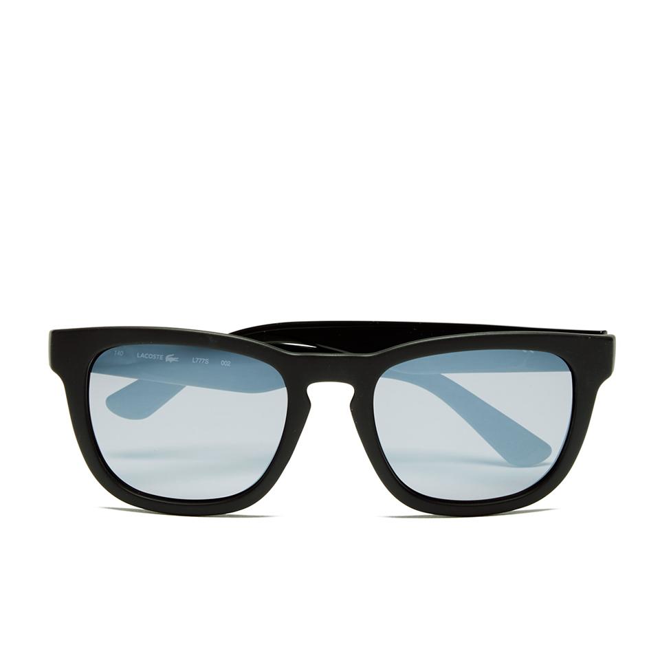 4aacc6123c12 Lacoste Unisex Wayfarer Sunglasses - Black Matt