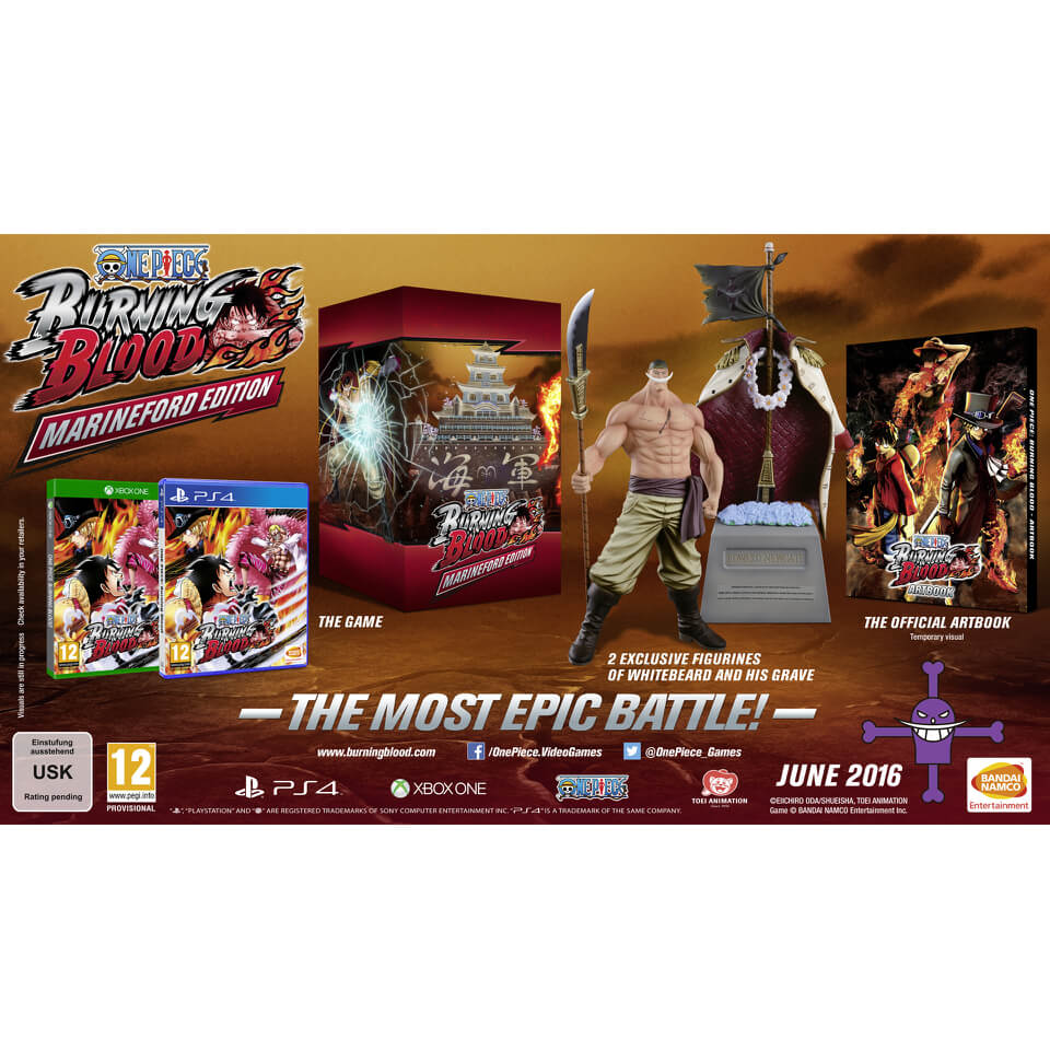 One Piece Burning Blood - Limited Collector