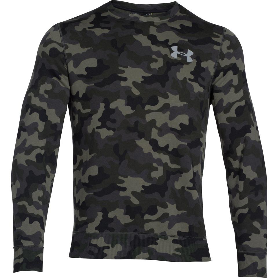 Green Under Armour Rival Fleece Mens Training Hoody
