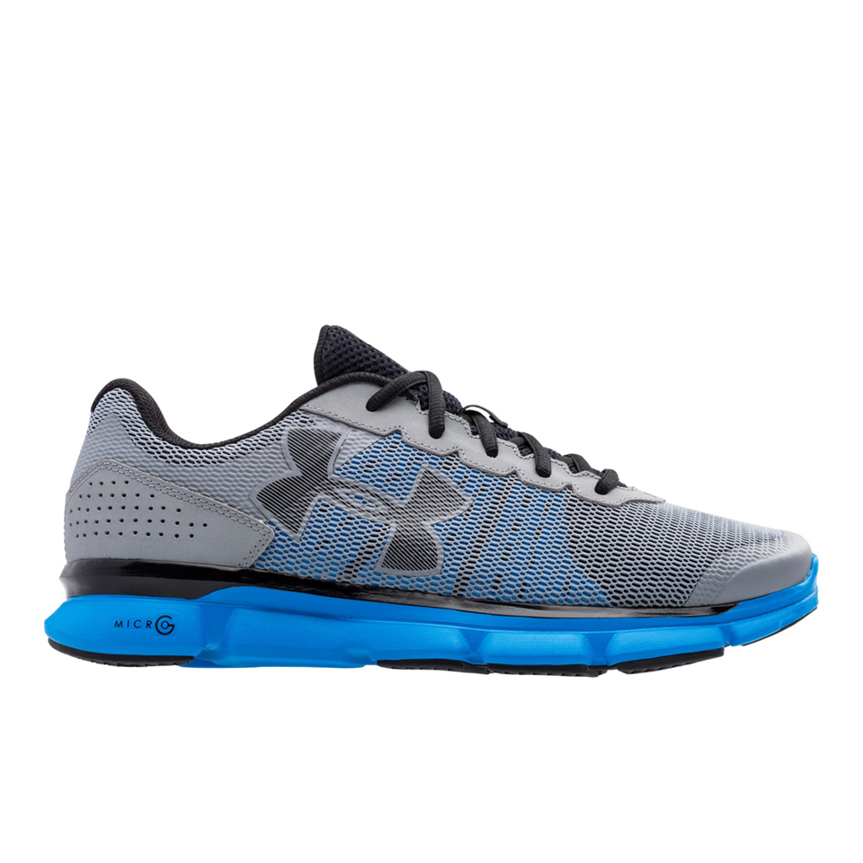 blue and gray under armour shoes off 52