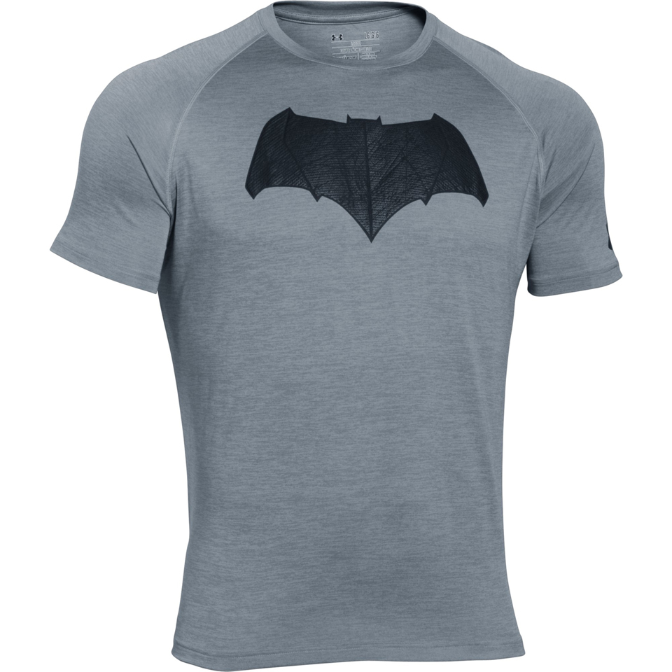 Fin Under Armour Men's Transform Yourself Batman T-Shirt - Grey Sports MQ-19