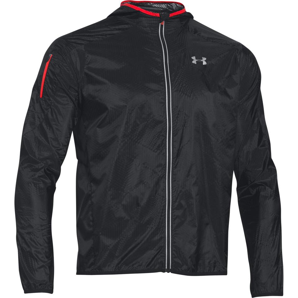 d6dd56184 Under Armour Men's ColdGear Infrared Unstoppable Run Shell Jacket - Black