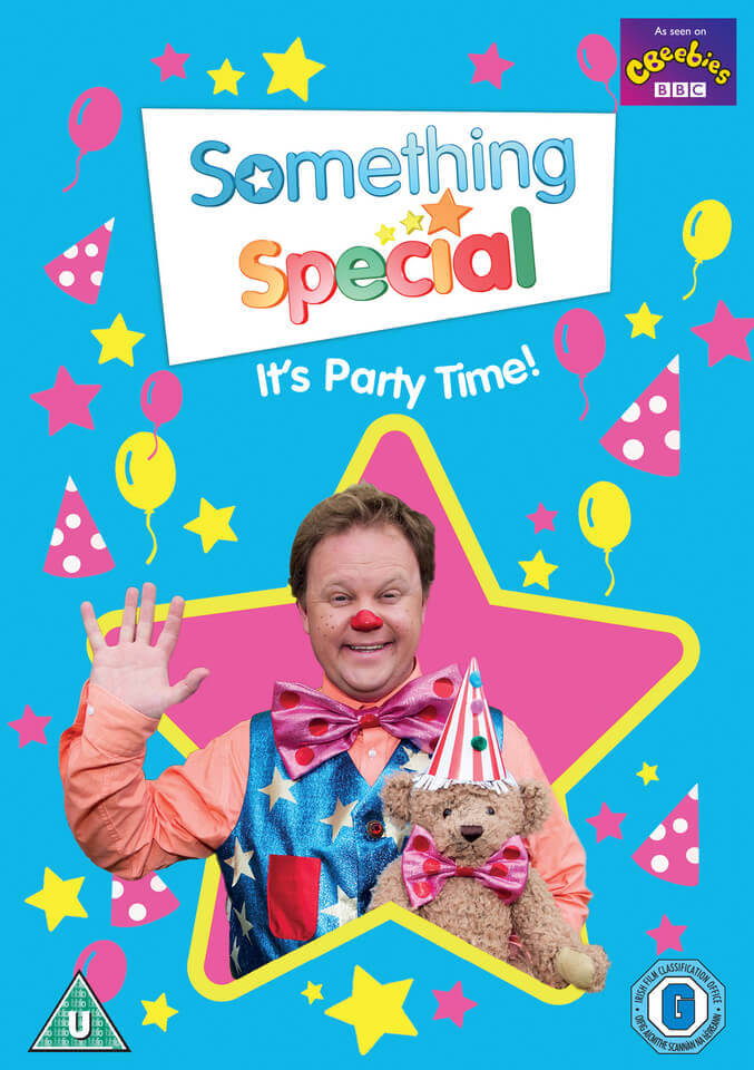 Something Special It S Party Time Dvd Zavvi