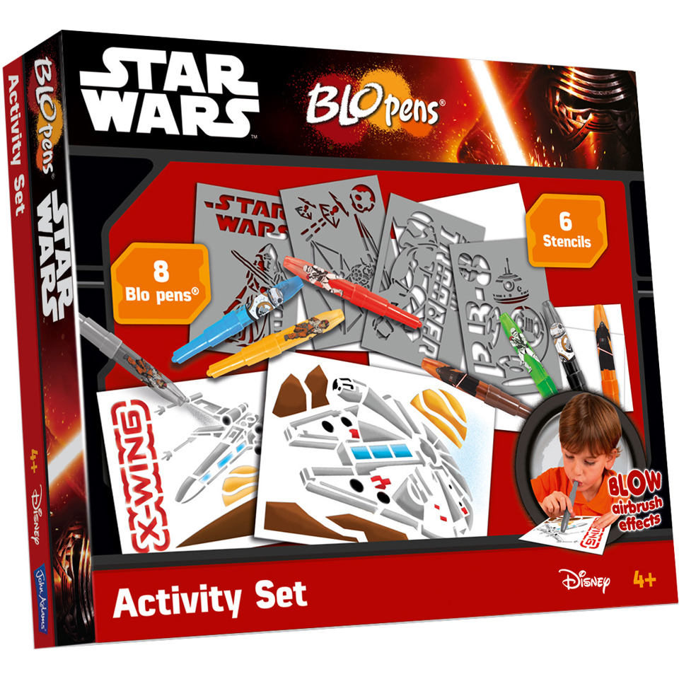 John Adams Star Wars Blopens Activity Set
