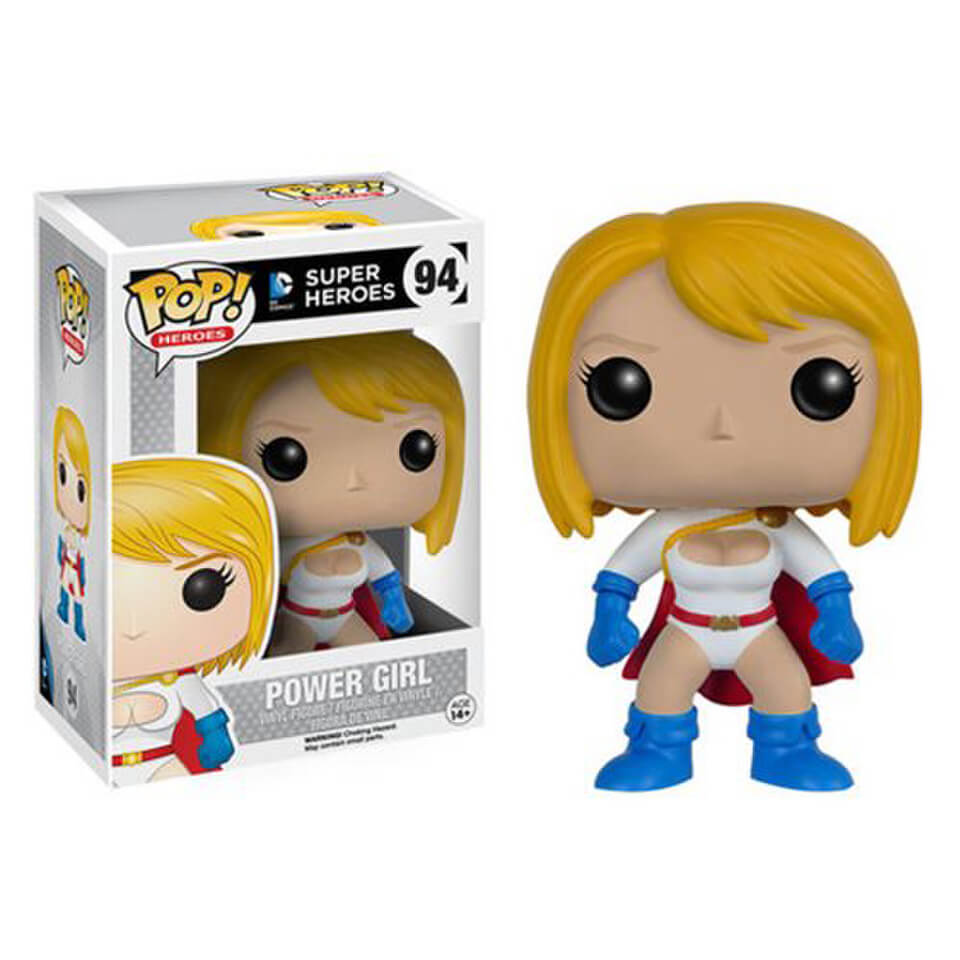 dc comics power girl funko pop figur sowia. Black Bedroom Furniture Sets. Home Design Ideas