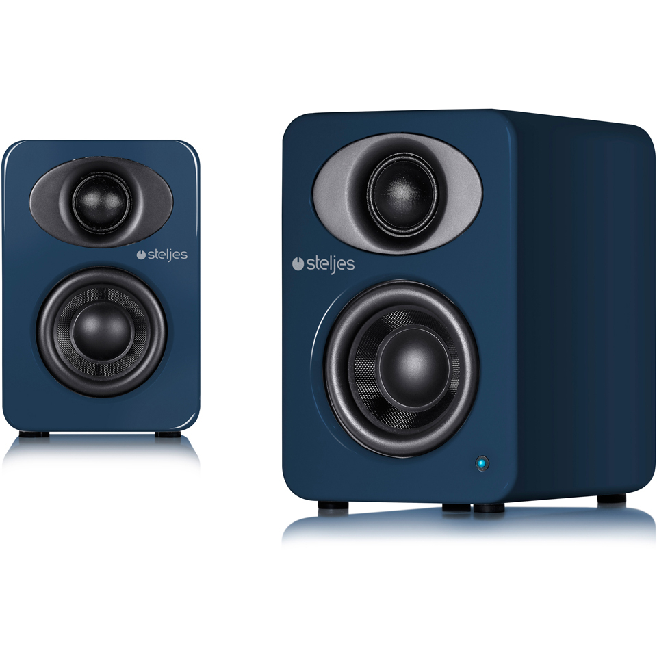 Steljes Audio NS1  Bluetooth Duo Speakers  - Artisan Blue