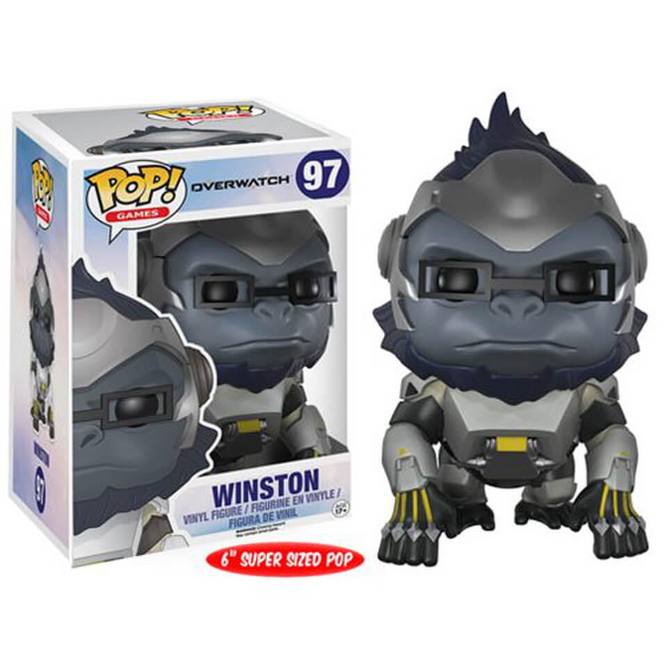 Overwatch Winston 6-Inch Pop! Vinyl Figure