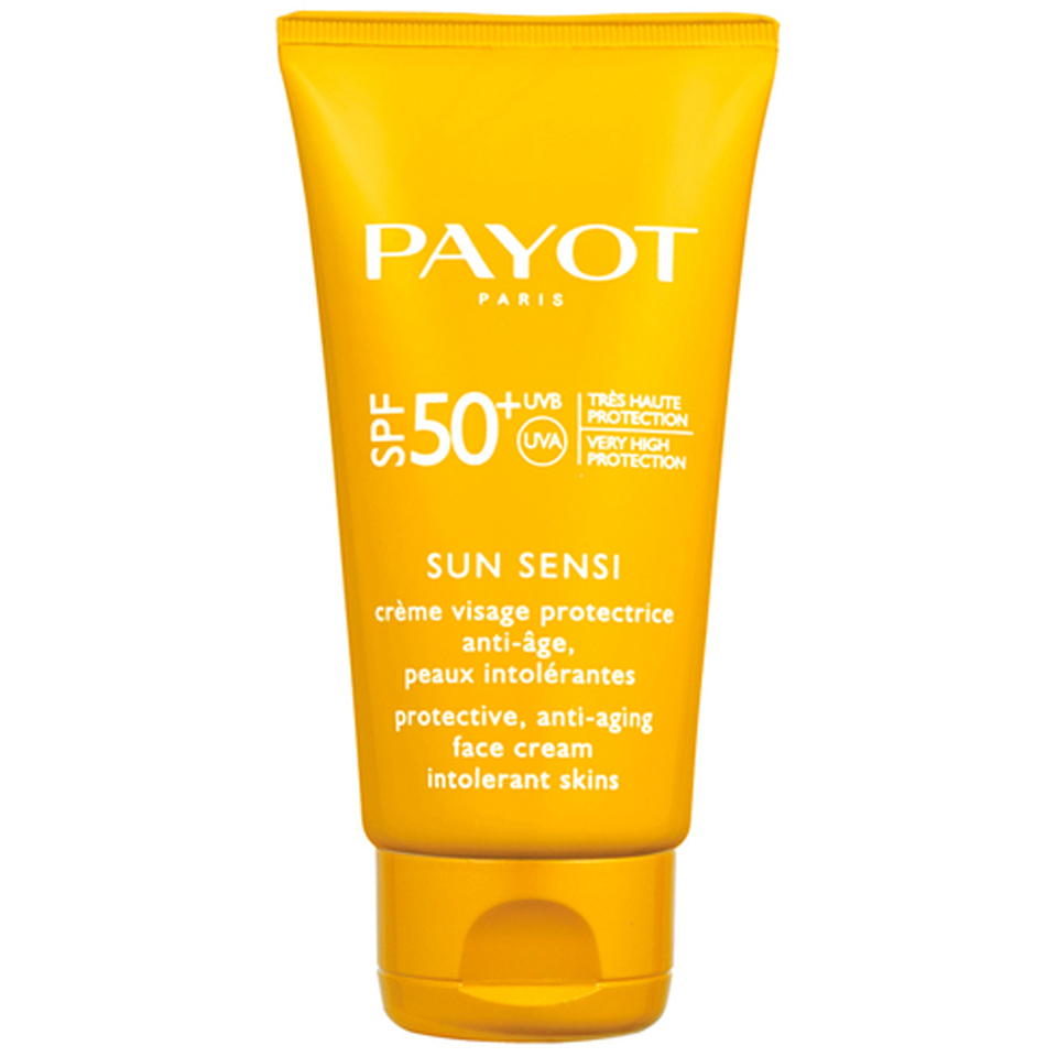 payot sun sensi cr me visage protectrice anti age spf 50 50ml livraison internationale gratuite. Black Bedroom Furniture Sets. Home Design Ideas
