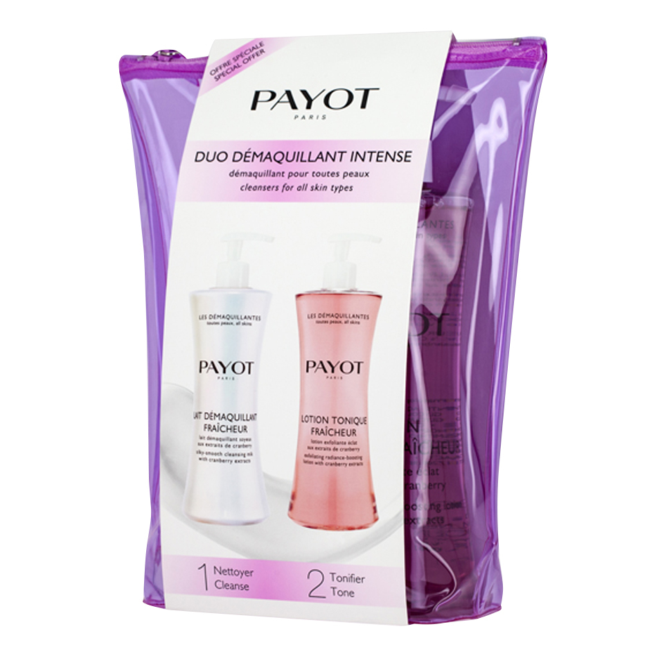 a5d36a678b1 PAYOT Duo Intense Cleansers for All Skin Types 2 x 400ml   Free ...