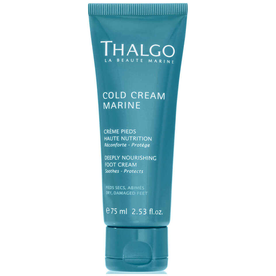 thalgo deeply nourishing foot cream buy online skincarestore. Black Bedroom Furniture Sets. Home Design Ideas