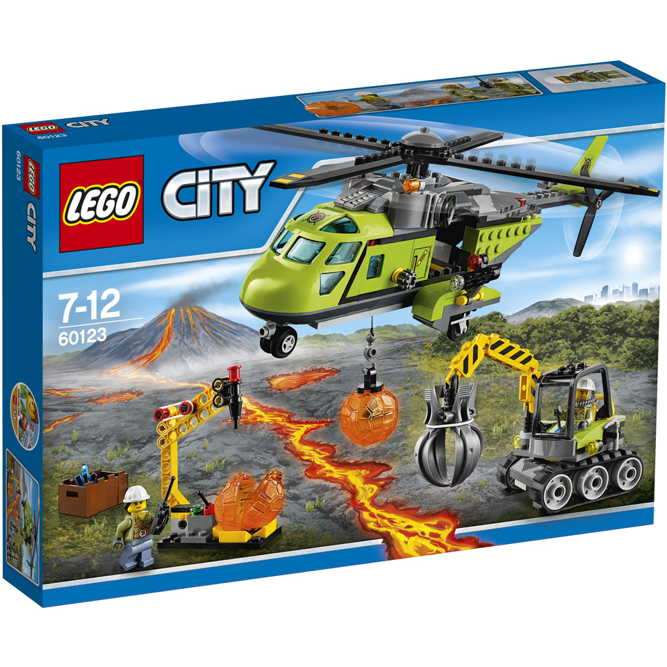 LEGO City: Volcano Supply Helicopter (60123)
