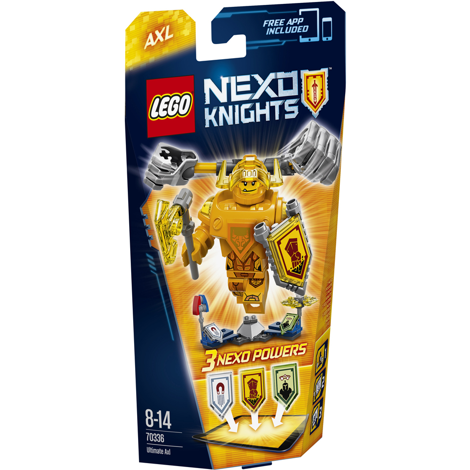 LEGO Nexo Knights: Ultimate Axl (70336)