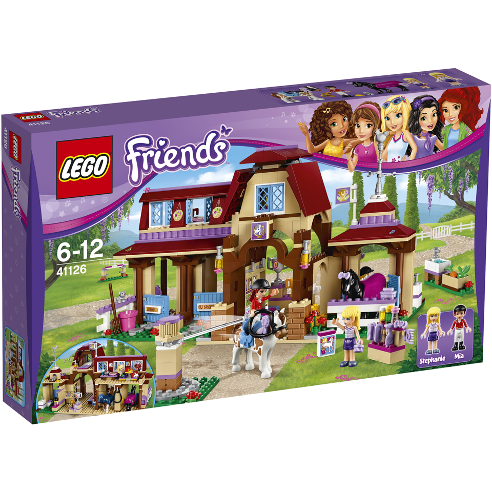 Toys And Friends : Lego friends heartlake riding club toys zavvi