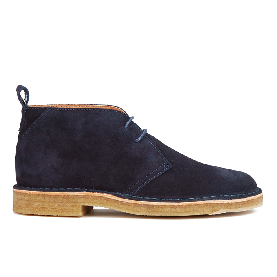 8ca0a65b0bf PS by Paul Smith Men's Wilf Suede Desert Boots - Navy Otterproof Suede