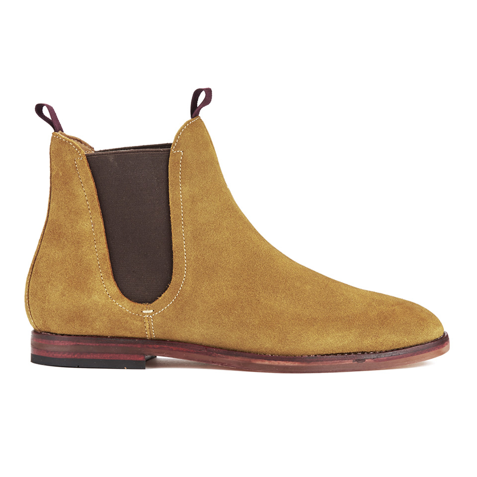 a7e2b1265 Hudson London Men s Tamper Suede Chelsea Boots - Sand - Free UK ...