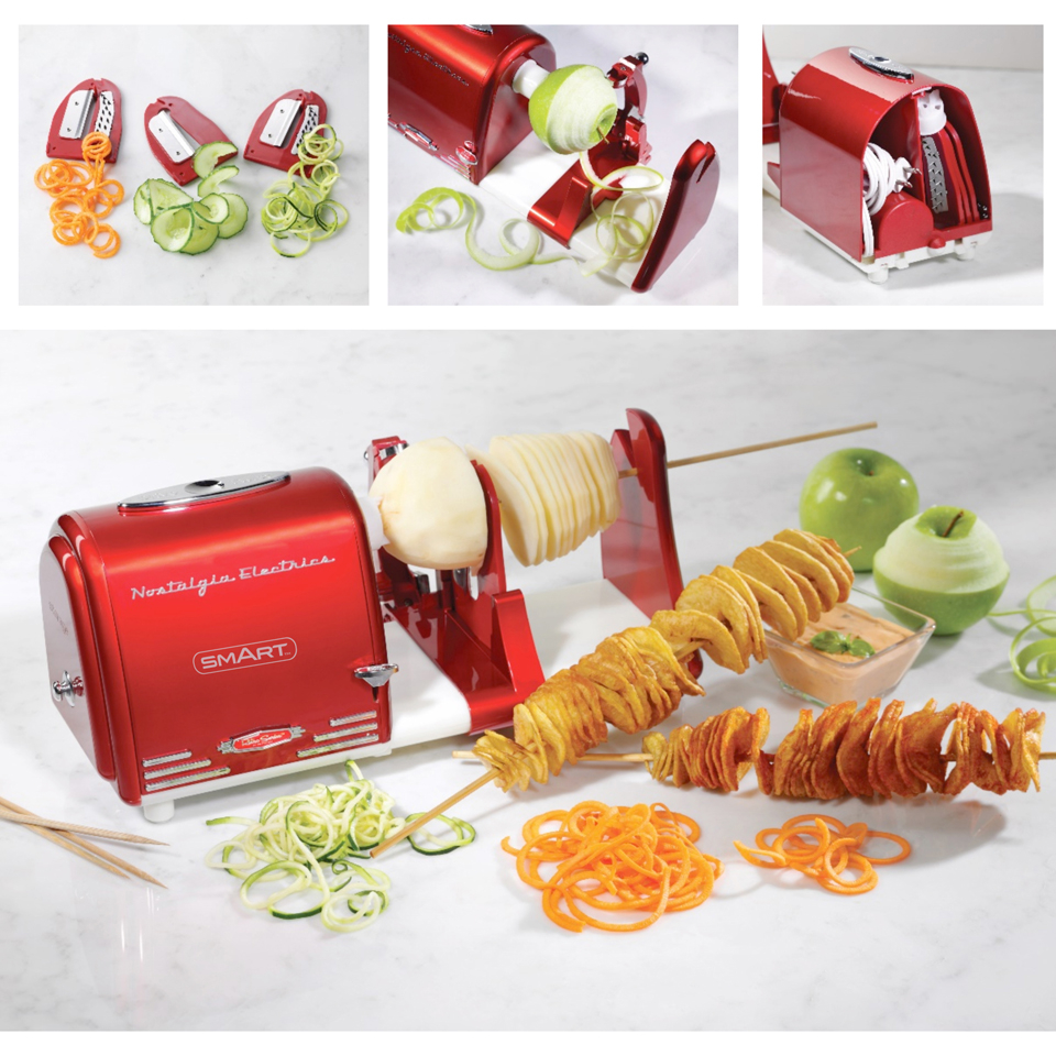 SMART Retro Electric Spiral/Twister/Peeler