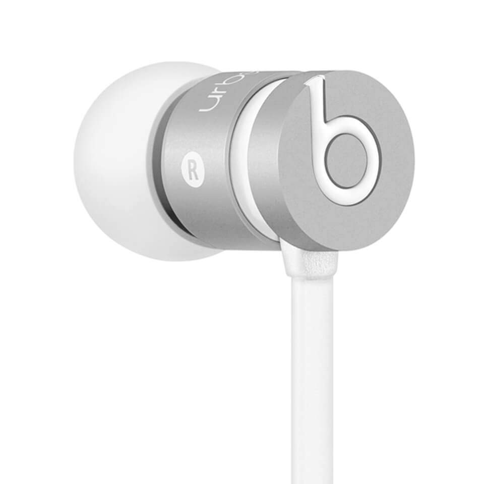 Beats by Dr. Dre urBeats In-Ear Headphones - Silver (Manufacturer Refurbished)