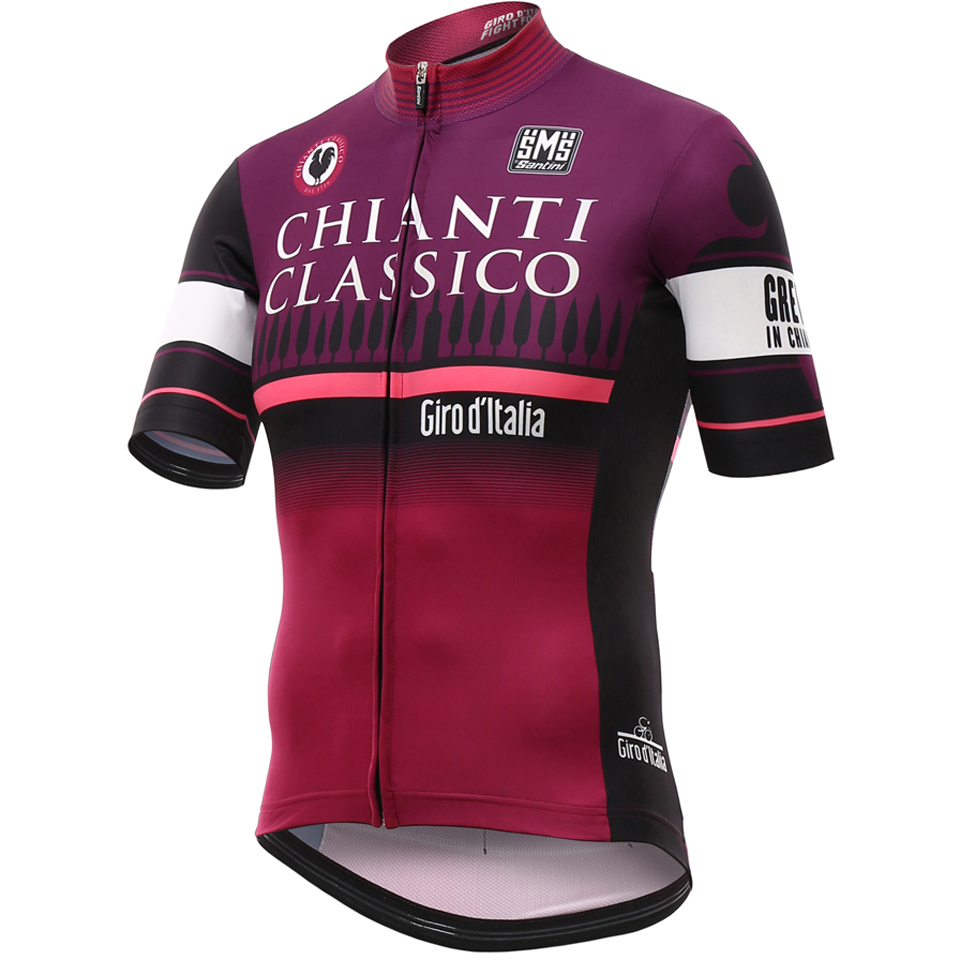 be8674feb Santini Giro d Italia 2016 Stage 9 Chianti Short Sleeve Jersey - Red ...