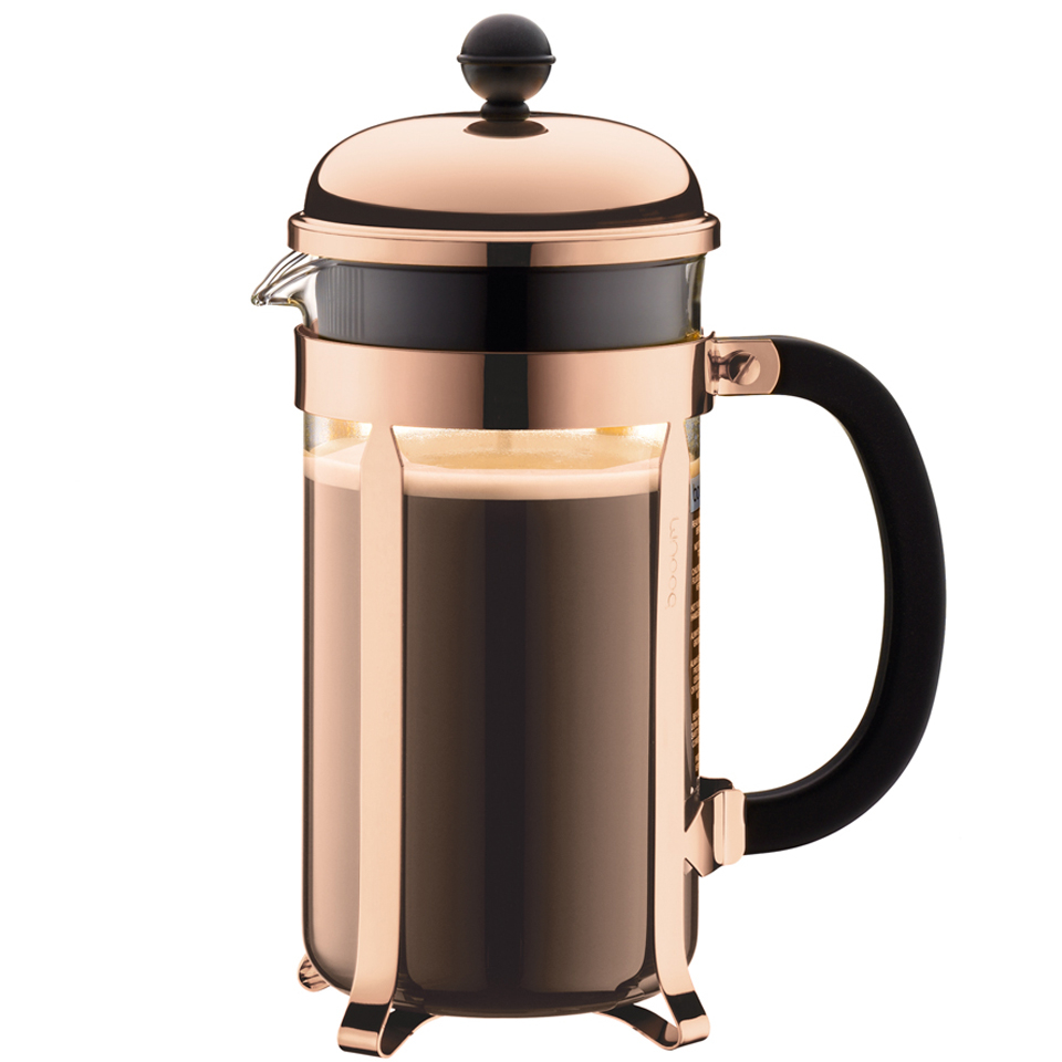 Bodum Chambord 8 Cup Coffee Maker Copper Iwoot