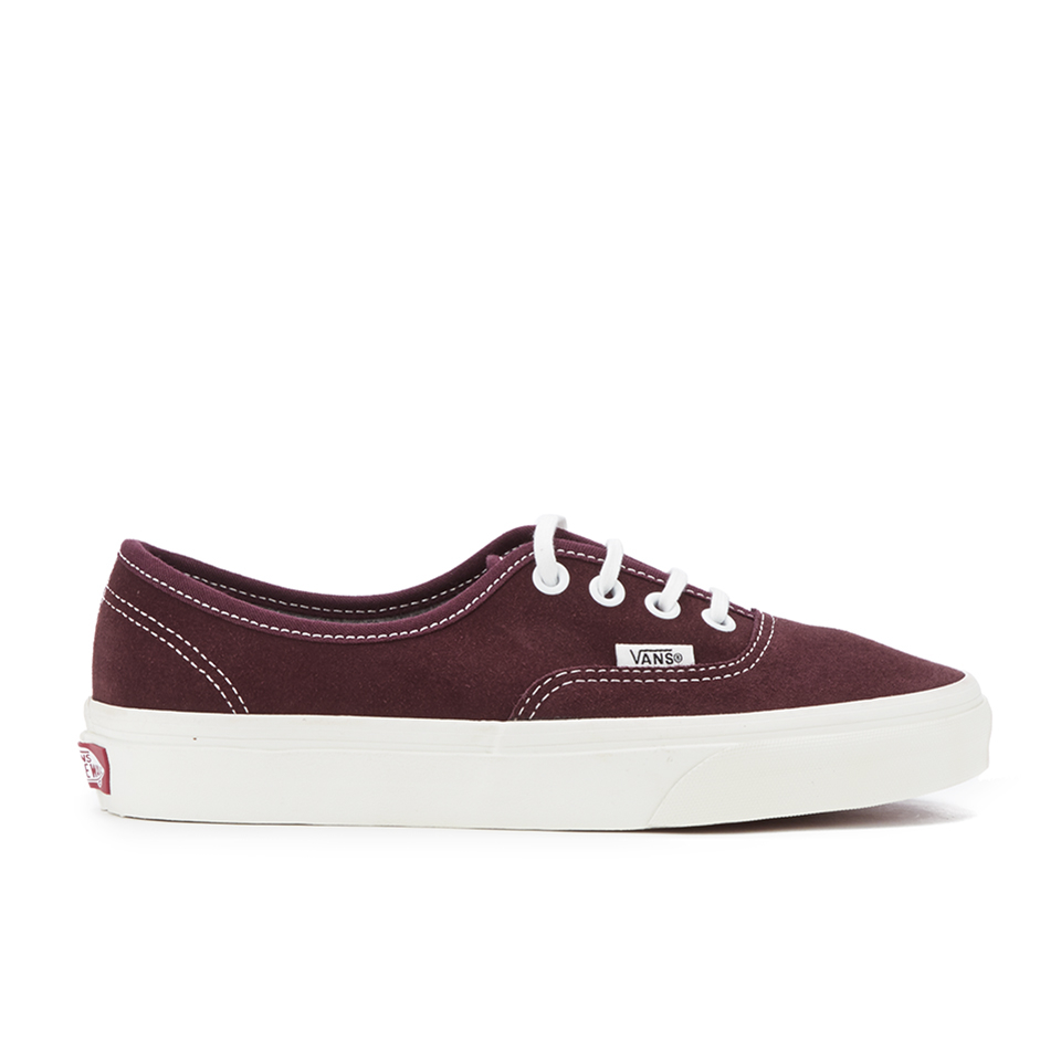 23964e604fd0 Vans Women s Authentic Varsity Suede Trainers - Red Mahogany - Free UK  Delivery over £50