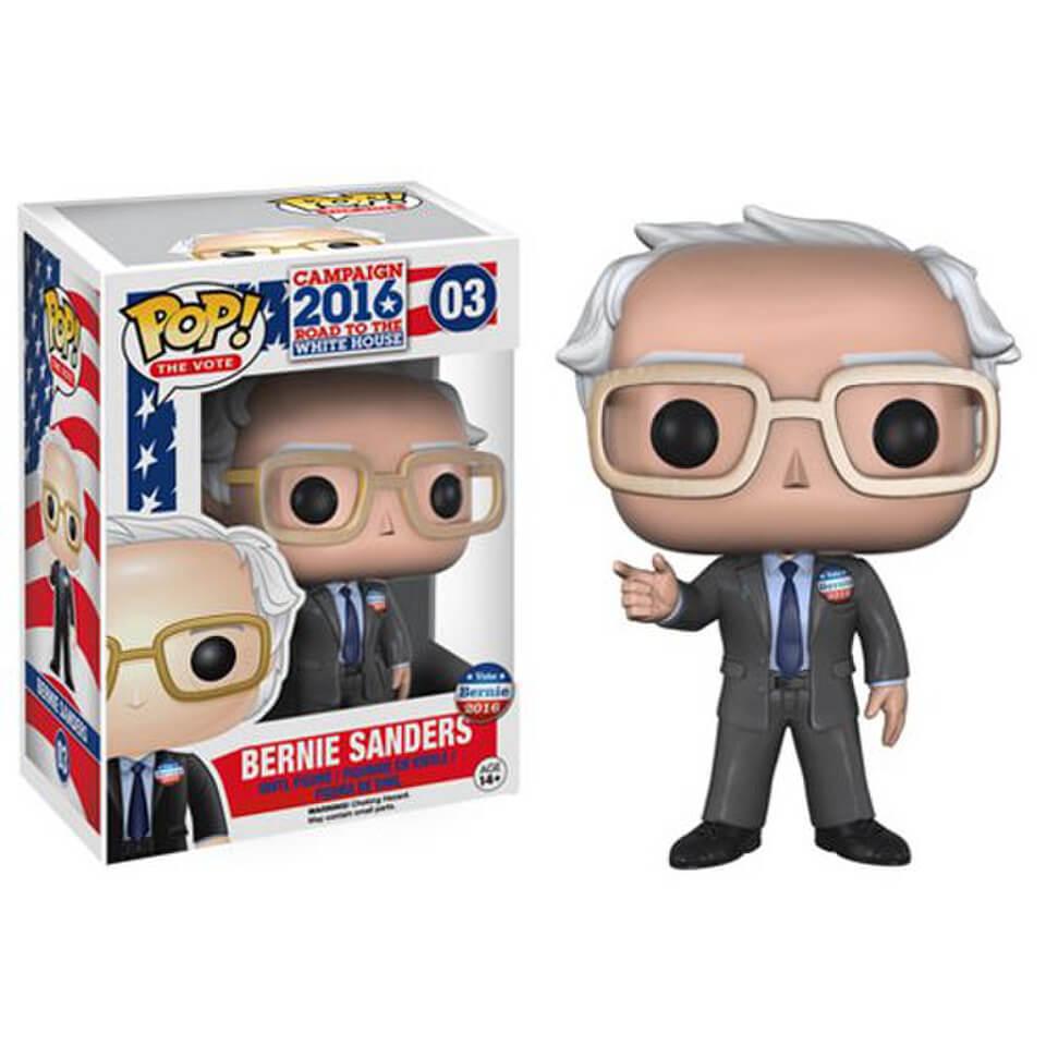 Bernie Sanders Pop Vinyl Figure Merchandise Zavvi