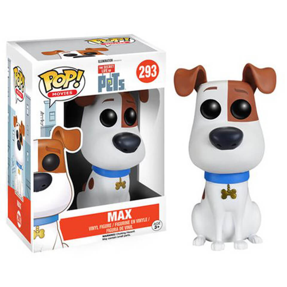 The Secret Life of Pets Max Pop! Vinyl Figure