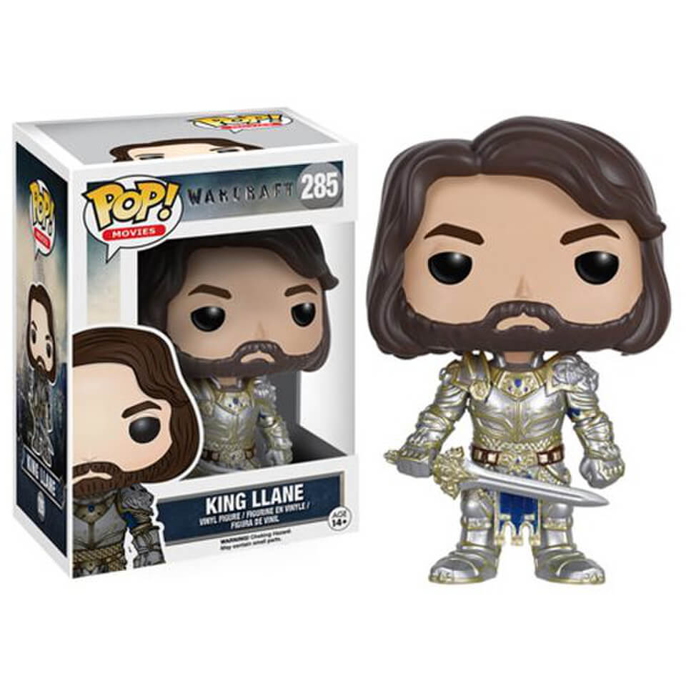 Warcraft King Llane Pop! Vinyl Figure