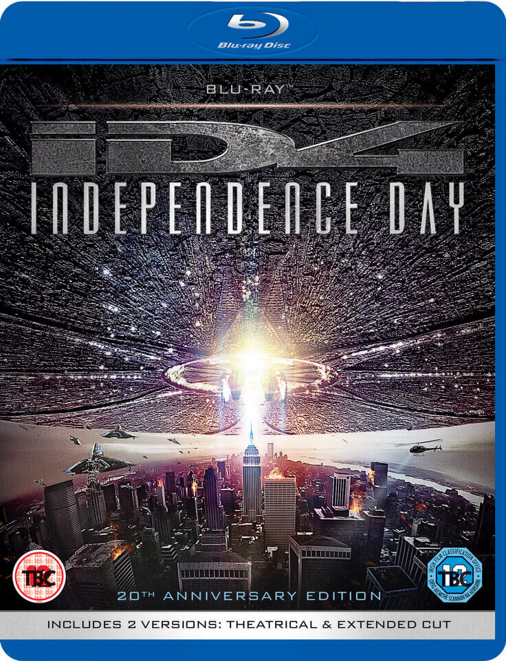 Independence Day 20th Anniversary Edition Blu Ray Zavvi