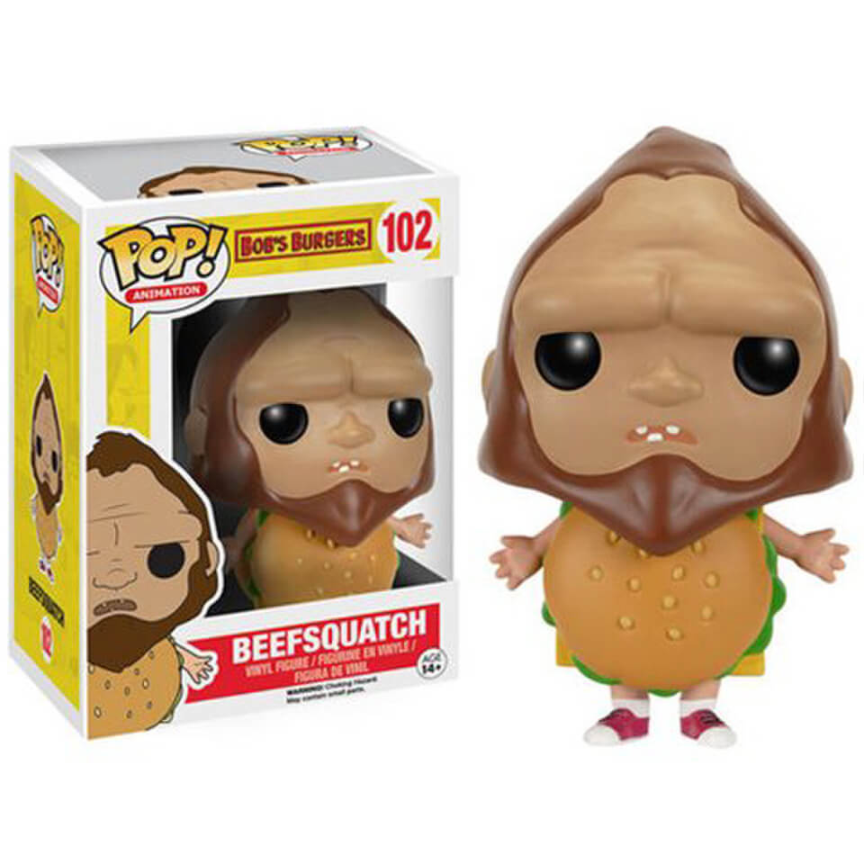 Figurine Pop! Beefsquatch Bobs Burgers