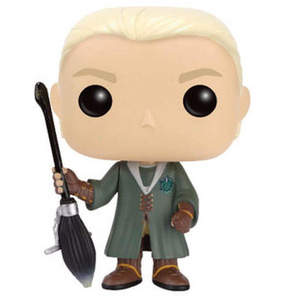 Harry Potter POP Vinyl Figure Draco Malfoy Quidditch Pop