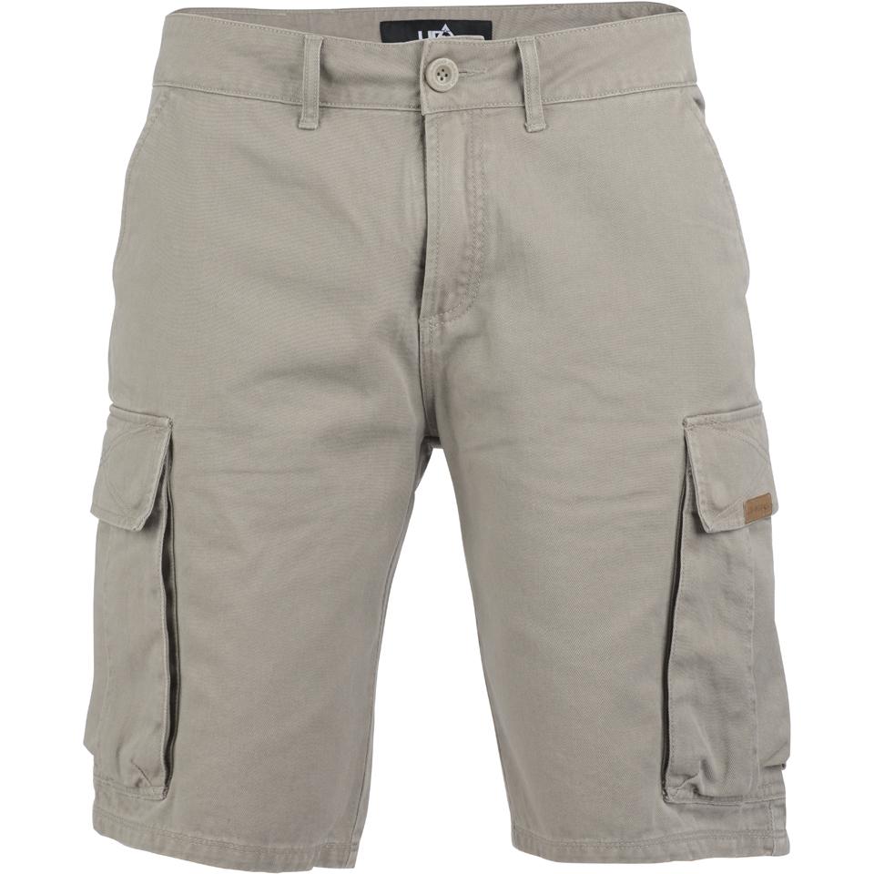 926485764d Urban Beach Men's Amazon Cargo Shorts - Cream Mens Clothing | Zavvi US