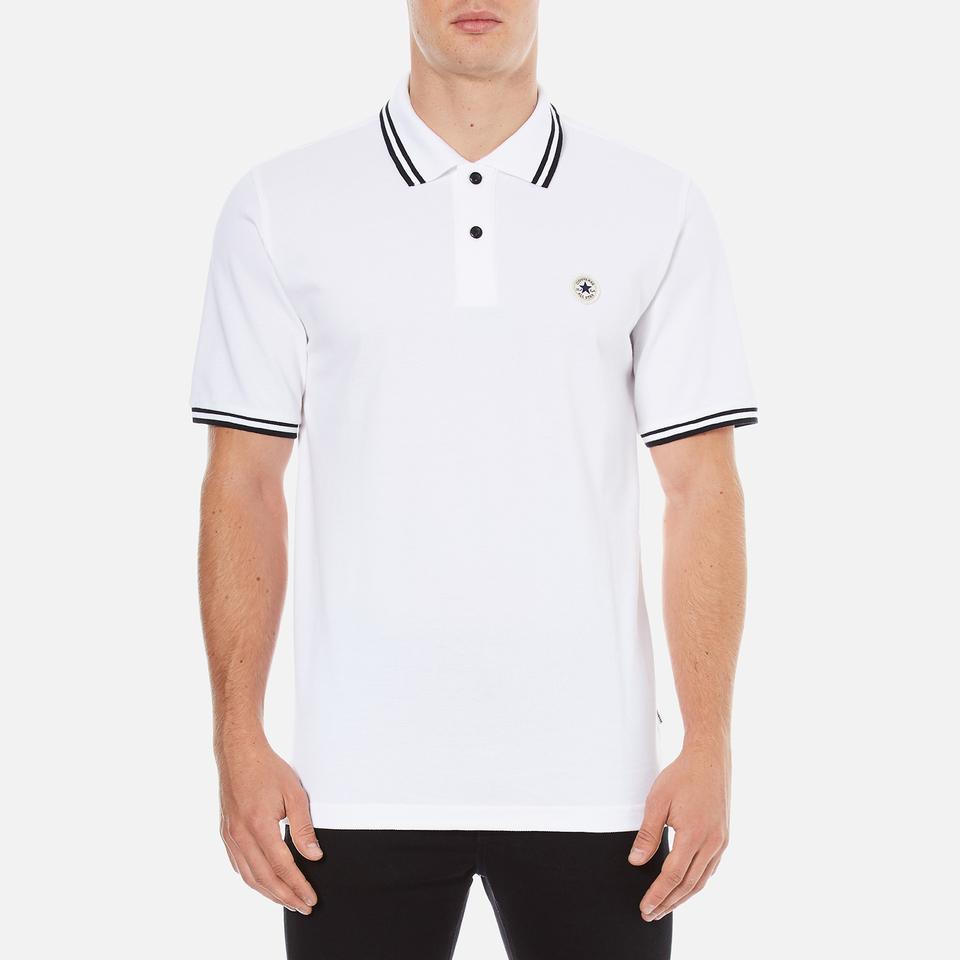 Converse mens all star core polo shirt converse white clothing converse mens all star core polo shirt converse white clothing thehut nvjuhfo Gallery